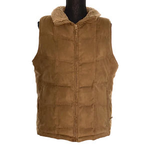 LL Bean taupe/brown  winter outerwear vest/jacket